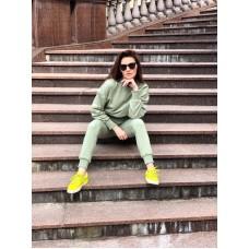 """Pistacijų žalios moteriškas kostiumėlis """"Summer hit"""""""